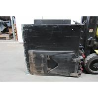 "Loron 103763 Fork lift attachment Carton Clamp 48""x48"" Pads 2000Lb Cap."