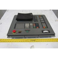 Mitsubishi WB6C-1 Operator Control Panel Display From M55K EDM Machine