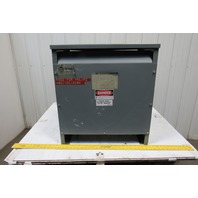 SORGEL SQUARE D 30T3HF 30KVA 3Ph Insulated Transformer HV 480V LV 208Y/120V