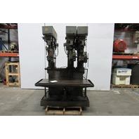 Chas. G. Allen MAVDW 33781 3 Spindle Multi Head Drill Pres 480V 3 Ph W/Coolant