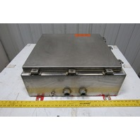 "Auto Tronic Controls 24"" x 24"" x 8"" Stainless Steel Electrical Enclosure Cabinet"