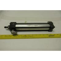 "Norgren J0177A2 Rev #3 Pneumatic Tie Rod Cylinder 1-1/2"" Bore 7-5/8"" Stroke"
