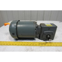 Boston Gear F71810ZB5J 10:1 Ratio 3Hp 3Ph 208-230/460V Electric Gear Motor