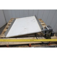 "Baldor 24-1/2"" W x 32.5"" Long 1Ph 110V Flat Belt Conveyor"