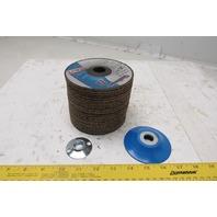United Abrasives-SAIT 27500 Flex Grinding Wheel 4-1/2x1/8x7/8 36 Grit Lot of 25