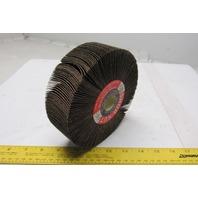 "Superior Abrasives/Shur-Kut 6""x1""x1"" 1822 Grit Flap Grinding Wheel Lot of 2"