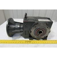 US Motors Series 2000 28:1 Ratio 1750RPM 62.5 Output Thru Shaft Gear Reducer