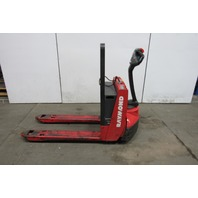 Raymond 102T-F45L 4500Lb Capacity Electric Walkie Pallet Jack  24V 414 Hrs 2011