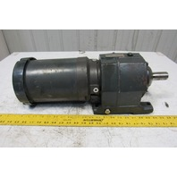 US Motors E190A 22.4:1 Ratio 78RPM 208-230/460V 3Ph Inline Helical Gear Motor
