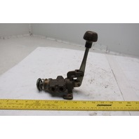 """Bellows M082-218-03 3 Port Lever Operated Air Valve 1/4"""" Ports"""
