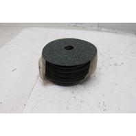 """Random Products 5""""x7/8"""" Aluminum Oxide Resin Fibre Disc 24 Grit Lot of 16"""
