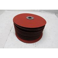 """3M 785C Regalite Polucut Fibre Discs 80 Grit 7"""" X 7/8"""" Lot of 25"""