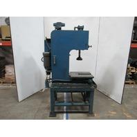 "11 Ton 5Hp C Frame Hydraulic Press 12"" Stroke 10"" Throat 230/480V 3Ph 18"" x 21"""