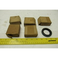 """Chicago Rawhide 14939 1.5"""" Shaft Nitrile Oil Seal Lot Of 6"""