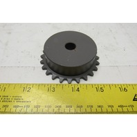 "Browning 35B24 #35 Single Row Roller Chain Sprocket 24T 1/2"" Stock Bore Lot Of 2"