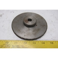 """Browning NSS20100 5"""" Pitch 100T 14.5° PA External Tooth Spur Gear 1/2"""" Bore"""