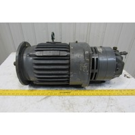 Delco EG2104DHY 3Hp 1765RPM 3Ph 460V 60Hz 213DFCZ Electric AC Motor With Brake
