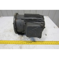 "Delco 1G9169ZA 3Hp 1755RPM 460V 215YZ Cast Iron Electric AC Motor 1""Spline Shaft"