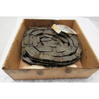 "Diamond C2060H 1-1/2"" Double Pitch Riveted Conveyor Roller Chain 9'10"" Lot Of 2"