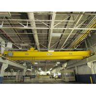 Shaw Box 2012 20 Ton 40,000 lbs 45' Top Running Double Girder Bridge Crane Hoist
