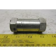 """Auto-Ponents 3-3A1-1.0 3/8"""" Aluminum Inline Check Valve"""