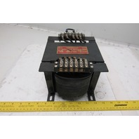 Hevi-Duty D44517 575/460/230V Primary 1Ph .750Kva 130/115/95V Output Transformer