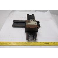 Thomson DSRA-8 Dual Shaft Rail Linear Guide X-Y Axis Modular Carriage DIY Unit