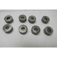 Nadella GLA24.06 8mm ID X 24mm OD U-Line Guide Wheel Bearing Lot Of 8
