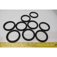 ORM1000-06500 850 mm OD x 65mm ID x 10mm W NRB-70 O-Ring Lot Of 9