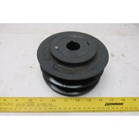 "Browning VP62 2 Groove Variable Pitch Pulley Sheave1-1/8"" Bore"