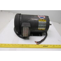 Baldor M3559 3HP 3450RPM 208-230/460V 3PH Electric Motor 56/56H Frame 3450RPM