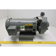 Flow Serve 1.25x.75X5 End Suction Pump Baldor VW3155 2Hp 208-230/460V 3Ph