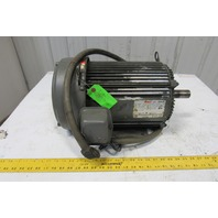 US Electric A923A Unimount 125 10Hp 1755RPM 3Ph 208-230/460V 60Hz AC Motor