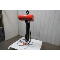 "CM Lodestar Model RT 3 Ton 110V 1Ph Electric Chain Hoist 19' 6"" Lift 5.5 FPM"