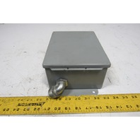 "Hoffman A-806CH 8""x6""x3-1/2"" Electrical Enclosure"