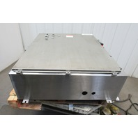 "Hoffman A42HS3712SSLP 42x37x12"" Stainless Steel Enclosure W/Extras See Info"