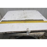 Rollon TLC43 Cam Guided Compact Linear Rail Size 43mm x1015mm W/5 Bearing Block