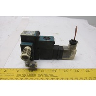 MAC 912A-PM-111JB 4 Way Single Solenoid Operated Pneumatic Valve 24V Coil