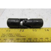 """LoveJoy D4 Steel Universal Joint Coupler 2.680"""" OAL x 3/4""""OD x Solid Bore"""