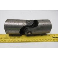 """Boston Gear J200 Steel Universal Joint Coupler 5-1/2"""" OAL x 2""""OD x Solid Bore"""
