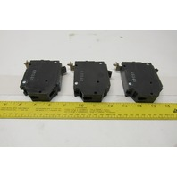 General Electric THHQB 20 A Single Pole Circuit Breakers Lot Of 3