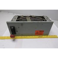 General Electric FDR Model 8000 30A 480V 60Hz Motor Control Breaker Bus Tap