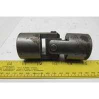 """Steel Universal Joint Coupler 4-1/4"""" OAL x 1-3/4""""OD x 1"""" Smooth Bore"""