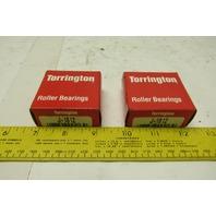 Torrington J-1812 28.58mm ID x 34.93mm OD Cup Roller Needle Bearing Lot Of 2