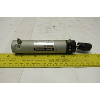 "SMC CDG1BA20-50 25mm Bore  2-1/2"" Stroke Spring Return Air Cylinder 145PSI"