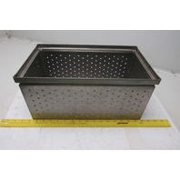 "Stackbins  #3 Steel Stackbox 9""x15.75""x7.5"" 304 Stainless Steel Container Basket"