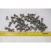 M12x1.5x30mm A2-70 Stainless Steel Full Thread Hex Head Cap Screw Bolt Lot of 50