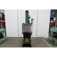"""Barclay Machine Corp. Pneumatic C-Frame Stamping Punch Press 13"""" Opening"""