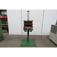 "Barclay Machine Corp. Free Standing Pneumatic 4 Post Punch Press 2"" Stroke"