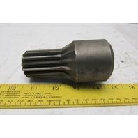 """Steel 15 Spline Male Adapter 1"""" Keyed Bore"""